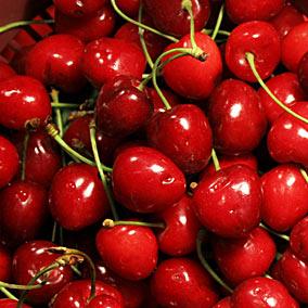 mmmm.....cherries....